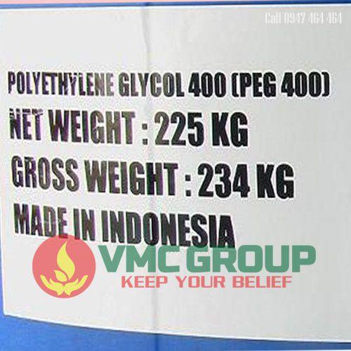 POLY ETHYLENE GLYCOL 400 (PEG 400) DUNG MOI
