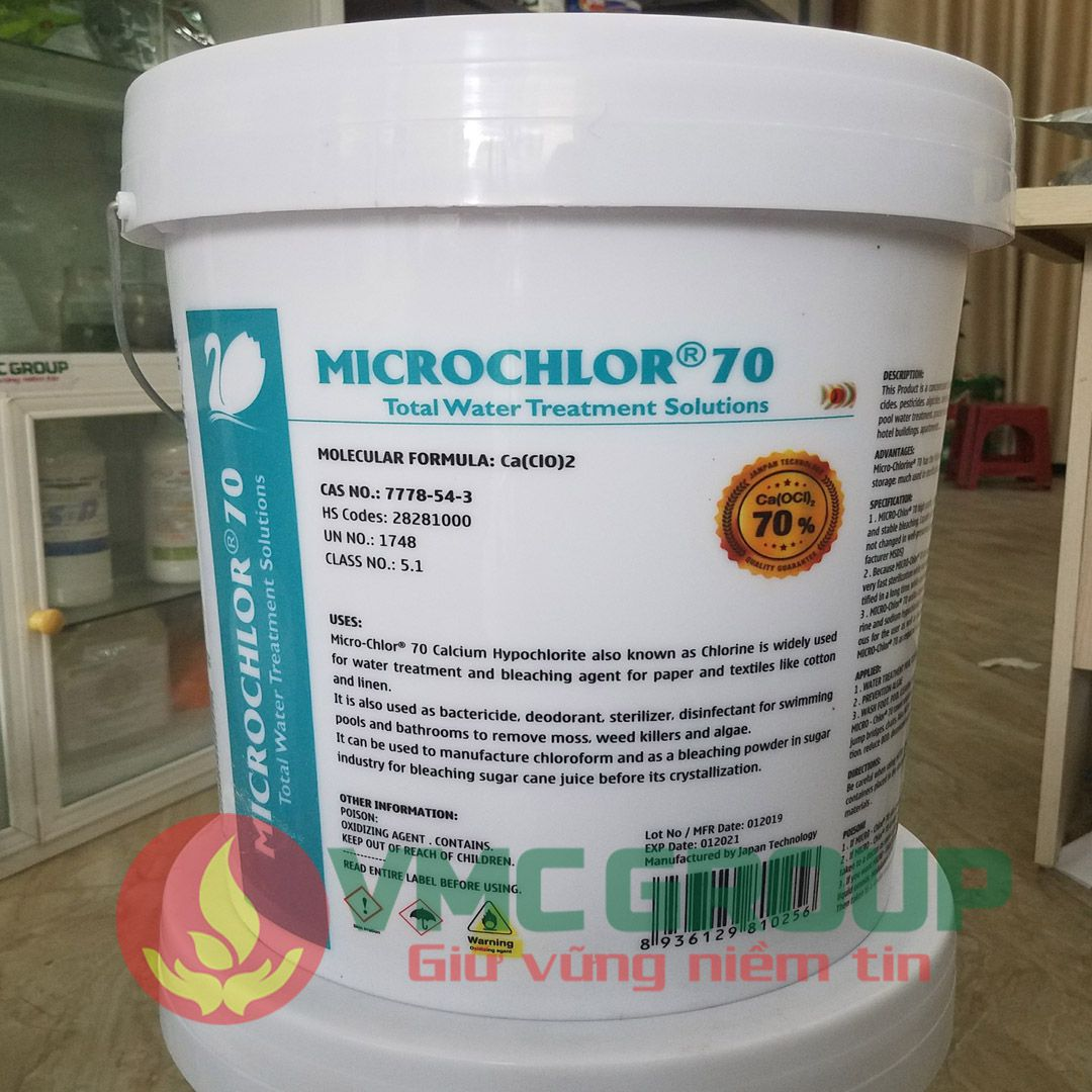 clorin nhat microchlor 70