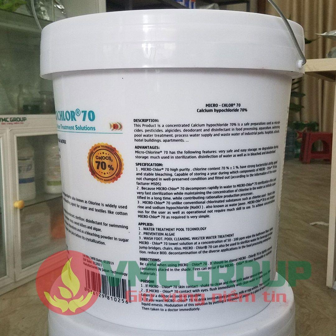 microchlor 70 clorin nhat ban thung 20kg